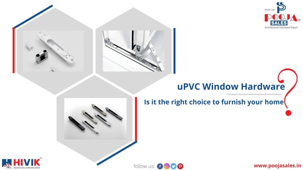 uPVC window hardware manufacture