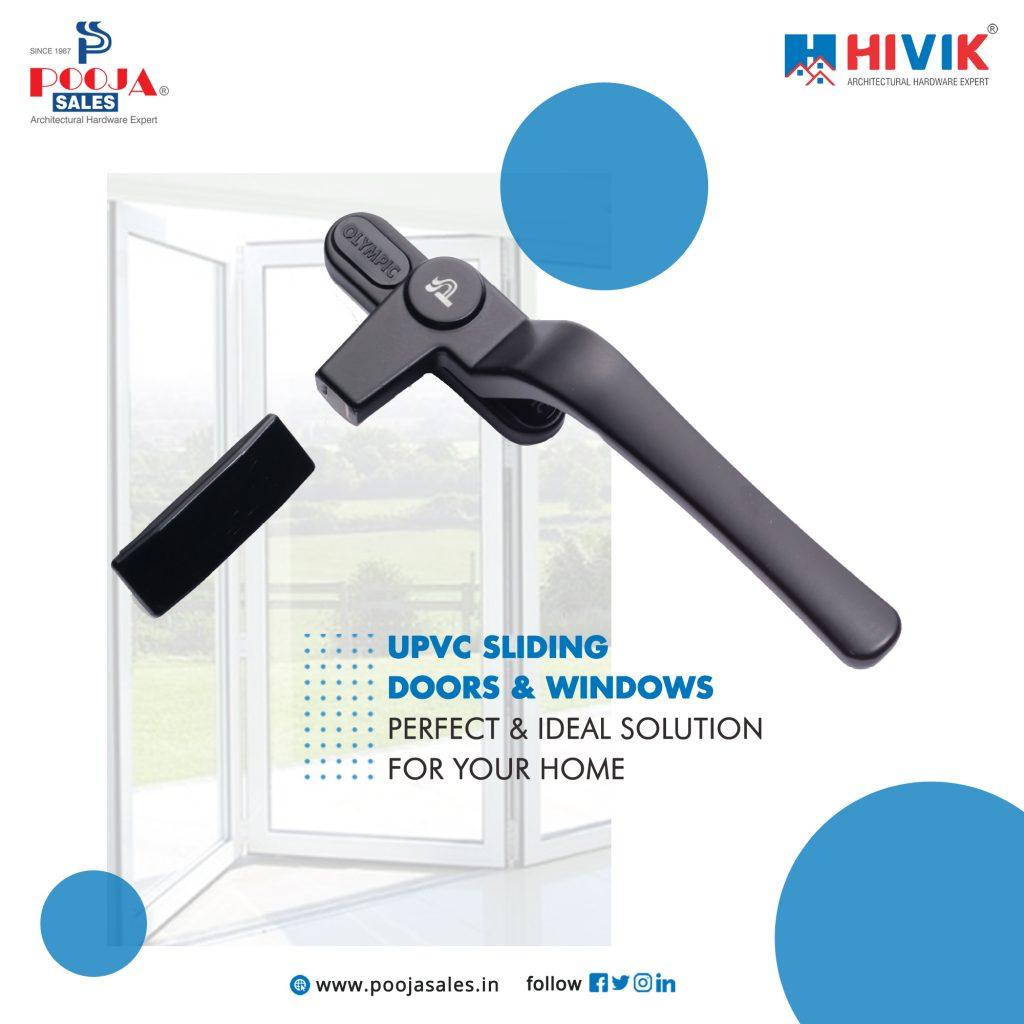UPVC door frame accessories