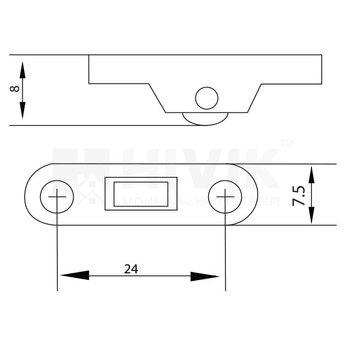 7.5mm Mesh Roller